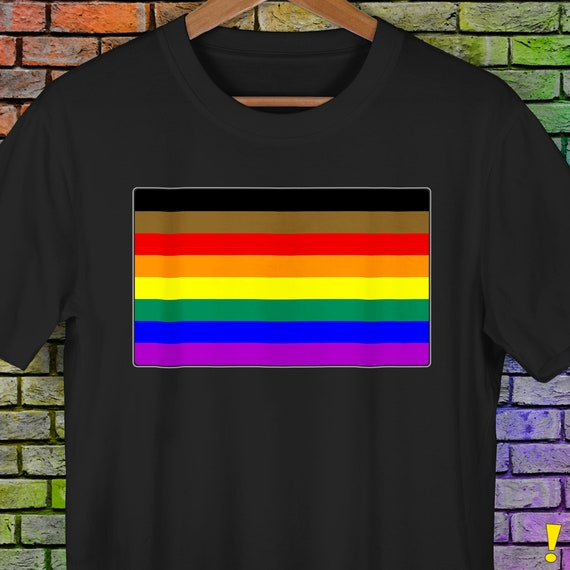 Philly LGBTQ Gay Pride Flag Premium Unisex T-Shirt
