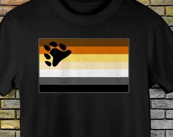 Gay Bear Pride Flag Premium Unisex T-Shirt