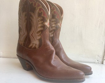 16f758cf3df Justin boots | Etsy