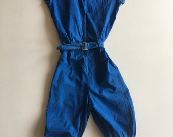 0ac76f60766 1940s Cotton Gym Suit Romper