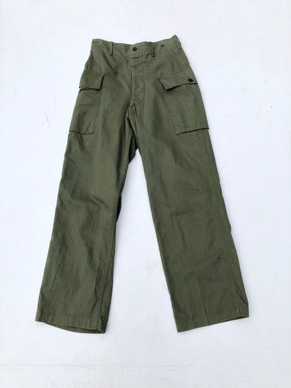 """1940's Military High Waist Cargo Pant 26"""""""