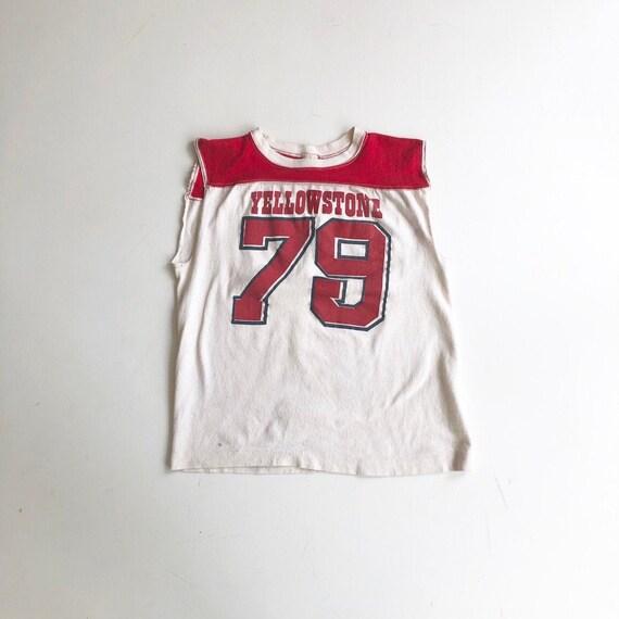 1970's Yellowstone Jersey Ringer T Shirt M