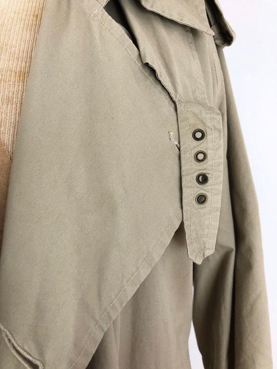 1980s Ralph Lauren Classic Khaki Trench Coat M - image 9
