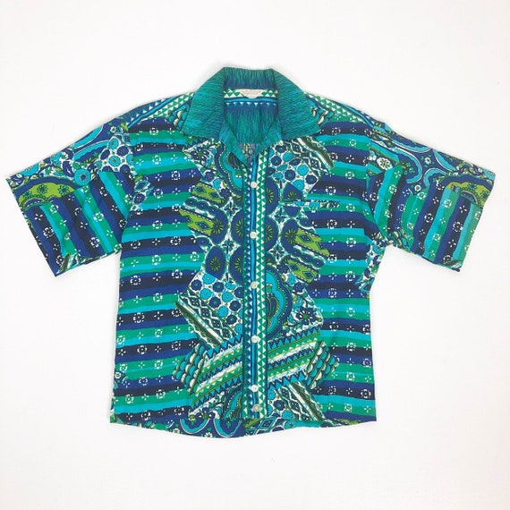 60's Tropicana Psychedelic Tropical Hawaiian Shirt