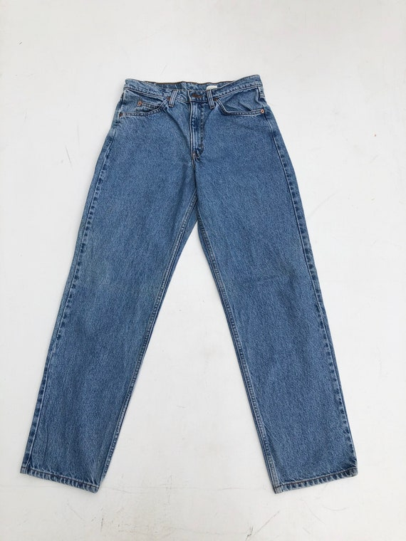 1990s Levis Orange Tab 550 High Rise Relaxed Fit J