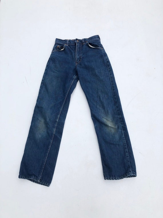 1950's Kid's Blue Denim Jeans 23""