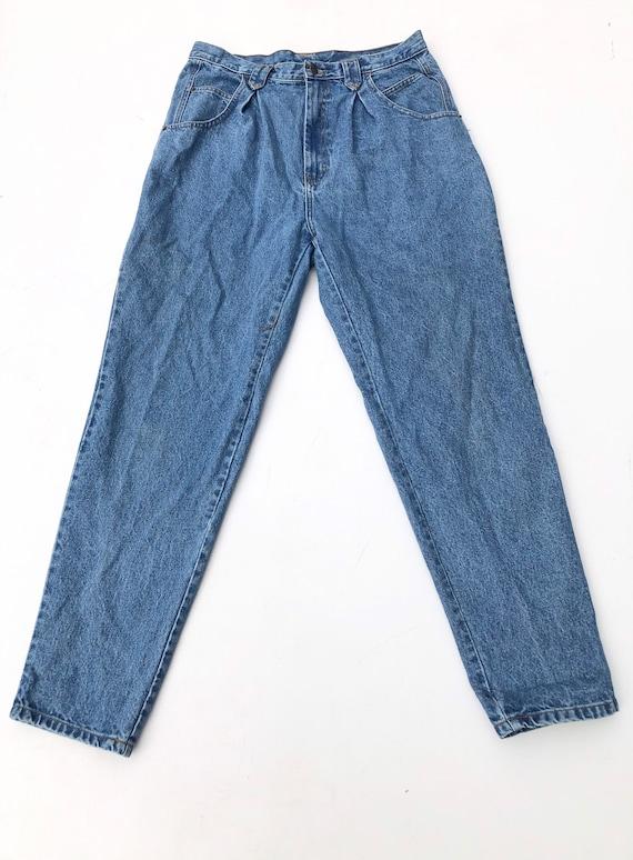 """1980s Jordache Pleated High Waist Jeans 32"""""""