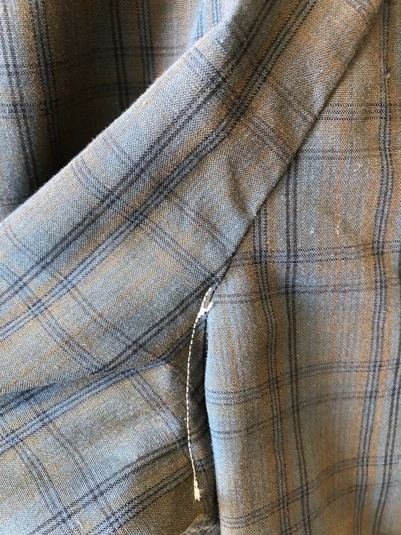 1950's Plaid Cotton Reversible Ricky Jacket M - image 10
