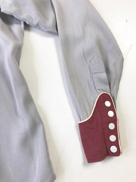 KILLER 1940's Prior Gabardine Western Shirt S - image 7