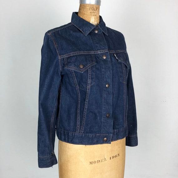 1960's Womens Big E Levi's Denim Jacket M