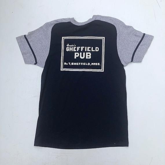 1980s Champion Sheffield Pub T Shirt L