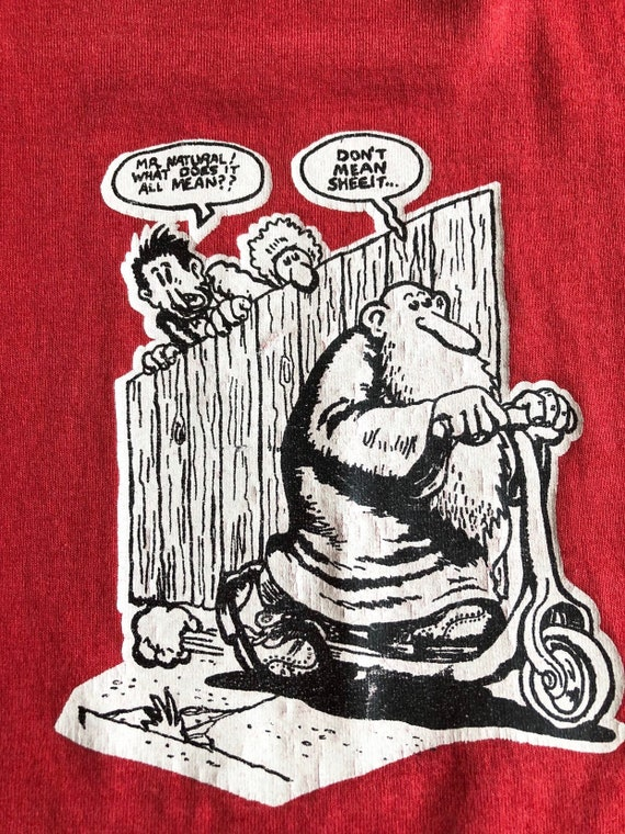 RARE R. Crumb Mr. Natural T - Shirt L