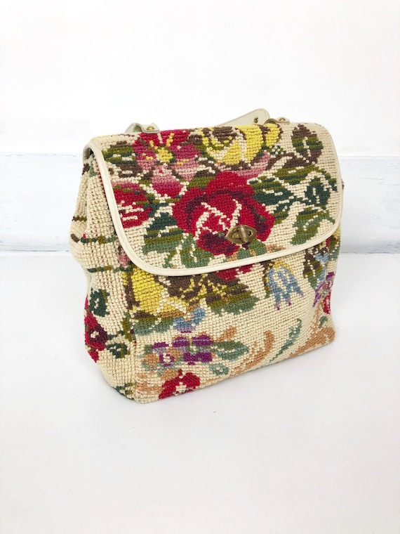 FAB Large 60's Tapestry Purse