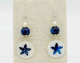 Blue Darling Earrings