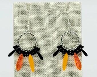 Spooky Spike Halloween Earrings