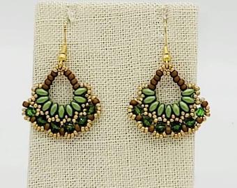 Ivy Fan Earrings