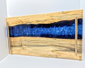 Your Custom Resin Epoxy Serving Tray Charcuterie Cutting Board