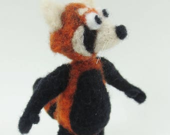 Needle Felt Red Panda