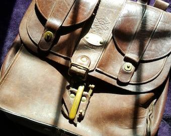 Vintage #37 Col. Littleton satchel