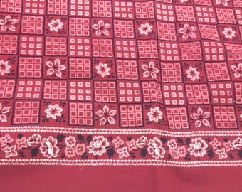 "1 yd Alexander Henry quilt fabric; ""sedona square bandana""; Out of print"
