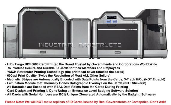 Agents of S.H.I.E.L.D Custom ID Card New Style Badge Fan Inspired Replica