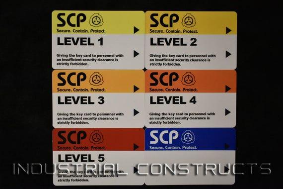 carte d'accès de la fondation - Fondation SCP