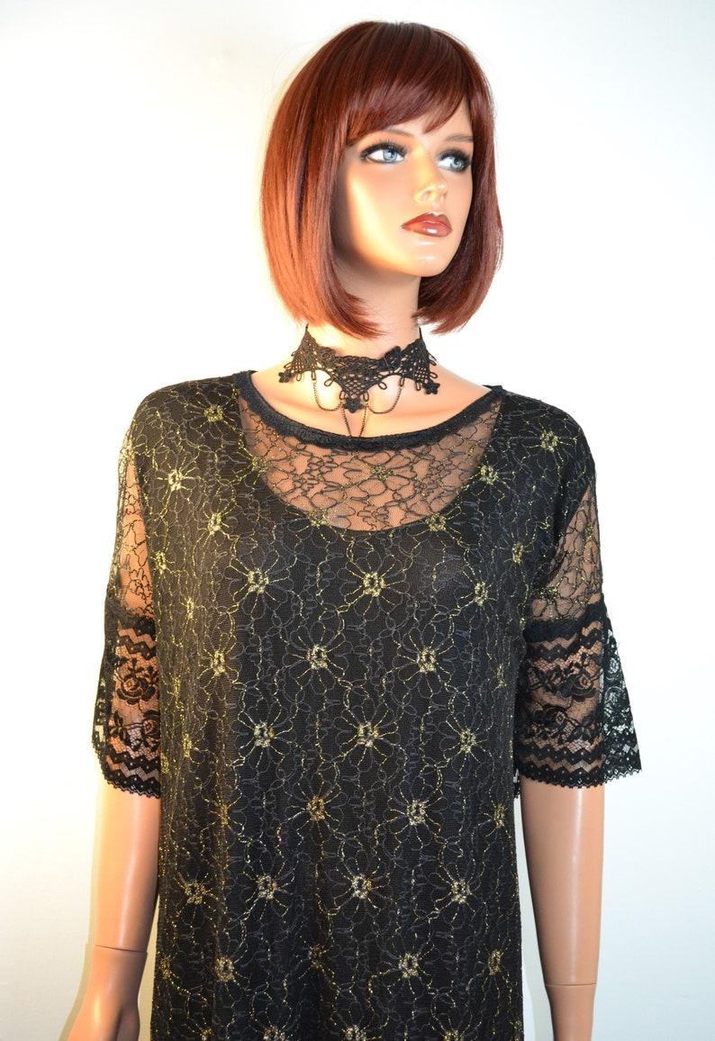 Dress  style holiday  long black