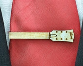 Guitar neck Tie Clip - Wood tie bar for guitar lover - Perfect gifts for men - Custom tie clips on request