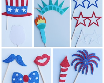 4th Of July Props Etsy