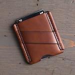 Slim Leather Card Wallet - CardHolder - Men's Front Pocket Wallet - Card Sleeve - Money Clip - Business Card Case - Minimalist Thin Wallet