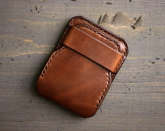 Mens Wallet Slim Thin Trifold Genuine Leather Coins Card Cash Money Pocket 9644