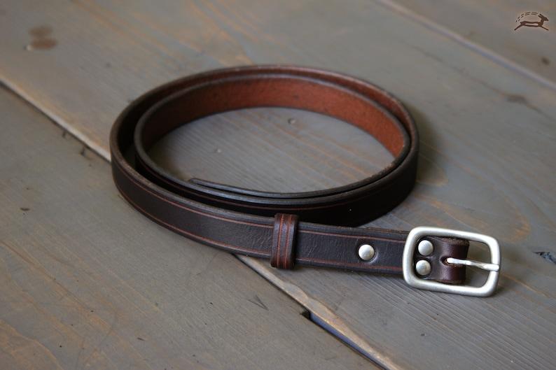 33d0cc522 Women's Leather Belt Slim Leather Belt Ladies Belt   Etsy
