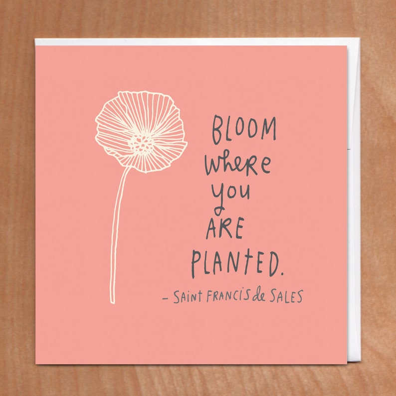 PLANTED 5x5 Card 5-18C image 0