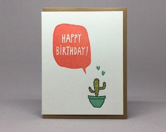 B-Day Cactus