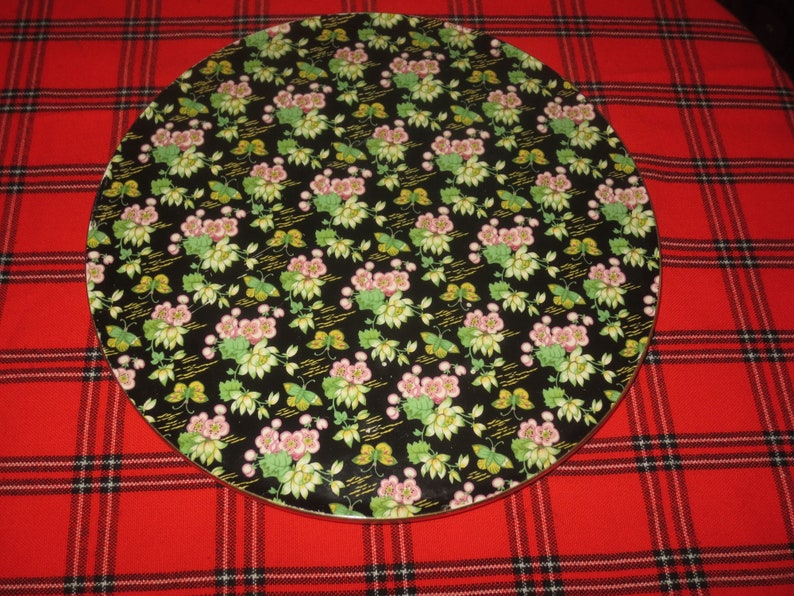 Large 12 inch Serving Plate Dessert Plate Vintage 1950/'s Royal Winton Orient Charger Plate