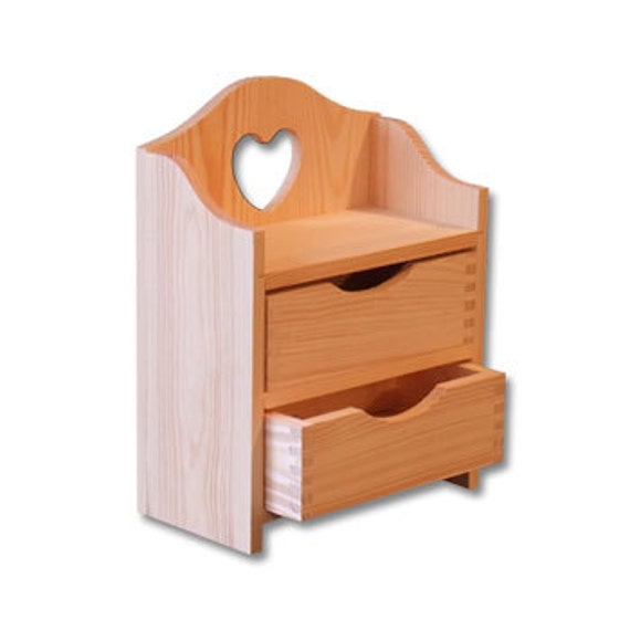 hacer cajones de madera Sin Pintar Madera Joyera Hacer Caso Con Cajones Decoupage Decopatch Artesana