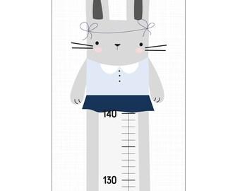 Bar for nursery - rabbit girl