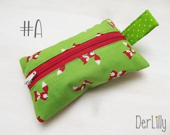 TaTüTa handkerchief bag Täschlein Minitäschlein Medication bag Fuchsig Fox School Bag Nursery Sniffing