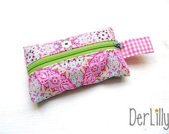 TaTüTa handkerchief bag Täschlein Minitäschlein drug-bag ornaments pink
