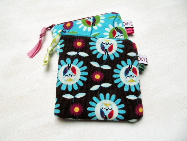 Mini-Täschlein Owls Color Choice Drug Bag Hopper on the Road image 0