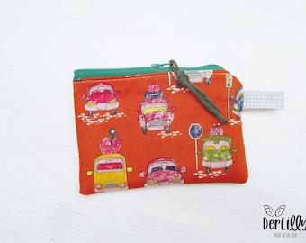 """Wallet Minitäschlein """"Oldtimer - Autos"""" Schoolchild Kindergarten Child School Bag"""