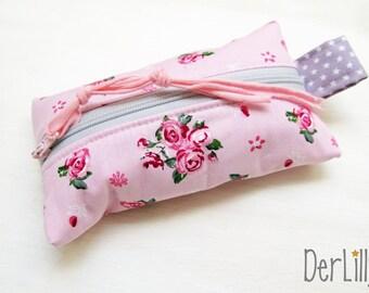TaTüTa Handkerchief bag Täschlein Minitäschlein Medication Täschlein Rosen & Co