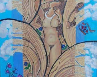 Ripened Woman  5x7