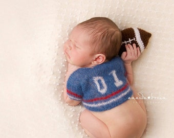 74464f974 Mohair newborn football jersey