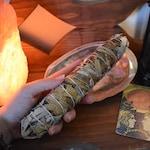 White Sage + Yerba Santa Blend Large Smudge Bundle | blessing way, ceremonies, house blessing, holy purification, shamanic ritual, prayer