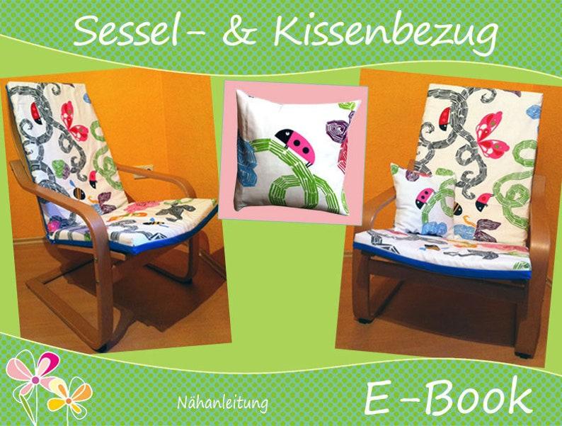 E-Book Nähanleitung BEZUG für Sessel & Kissen image 1