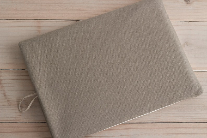 12 Surface Pro 3 Custom   Stone Grey Taupe Ivory pocket Greige 12 inch New Macbook sleeves iPad Pro case 11 inch Macbook Air case