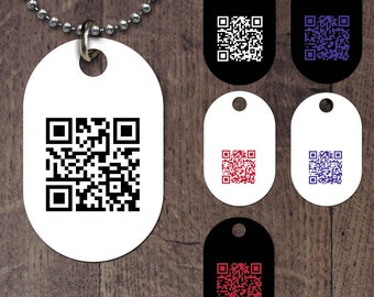 Barcode Dog Tag