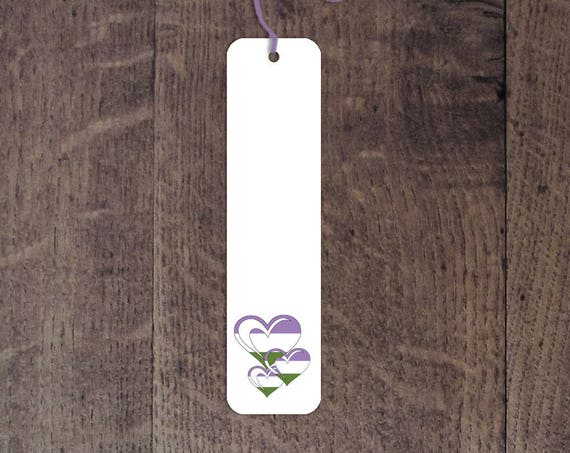 Genderqueer flag bookmark