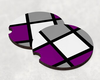 Car coasters (set of 2) - Asexual Collection - Mondrain
